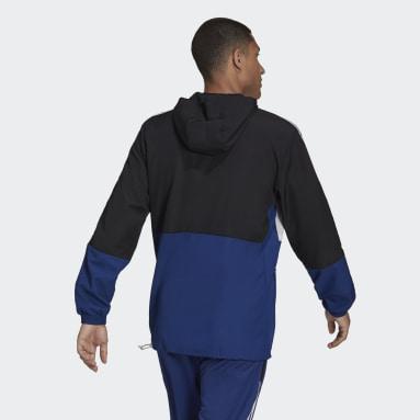 Men's Sportswear Black Tiro Primeblue Warm Windbreaker