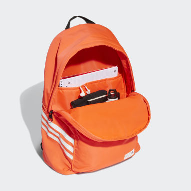 Gym & Training Orange Classic Future Icons Backpack