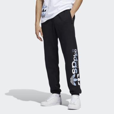 Pantalon de survêtement Logo Play Noir Hommes Originals