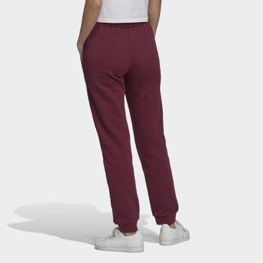 Pantalon sportswear Adicolor Essentials Slim Bordeaux Femmes Originals