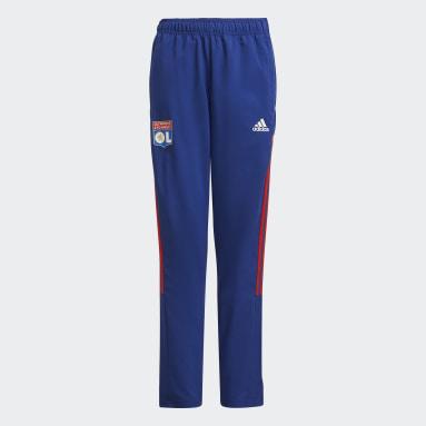 Pantaloni da rappresentanza Tiro Olympique Lyonnais Blu Bambini Calcio