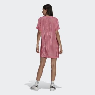 Vestido Rosa Mujer Originals