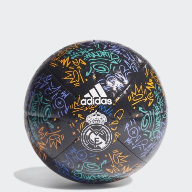 Balón Club Visitante Real Madrid Azul Fútbol