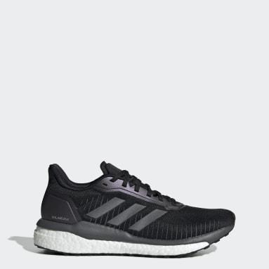 ผู้หญิง วิ่ง สีดำ รองเท้า Solar Drive 19