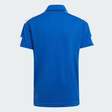 Polo Squadra 21 Azul Niño Fútbol