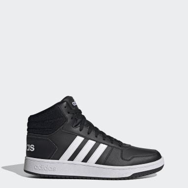 Men's sport_inspired Black Hoops 2.0 Mid Shoes