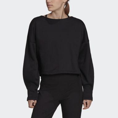 Sweat-shirt adidas Sportswear Studio Lounge Fleece Noir Femmes Sportswear