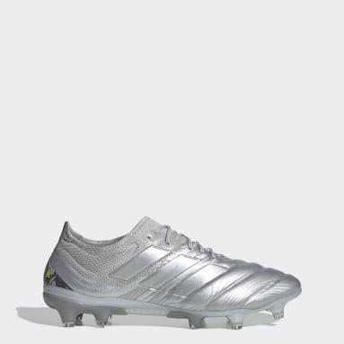 Women Football Silver Copa 20.1 Firm Ground Boots