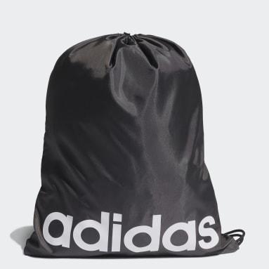 Volleyball Black Essentials Logo Gym Sack