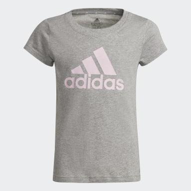 серый Футболка adidas Essentials