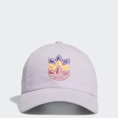 Women's Originals Purple Logo Play Relaxed Hat