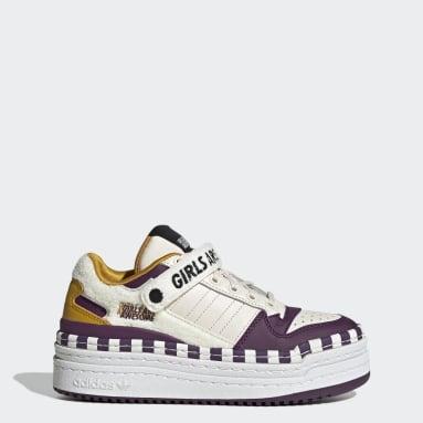 Women Originals White Triple Platforum Lo Girls Are Awesome Shoes