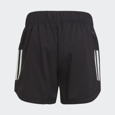 Girls Training Black AEROREADY XFG Regular Zipper Pocket Training Woven Shorts