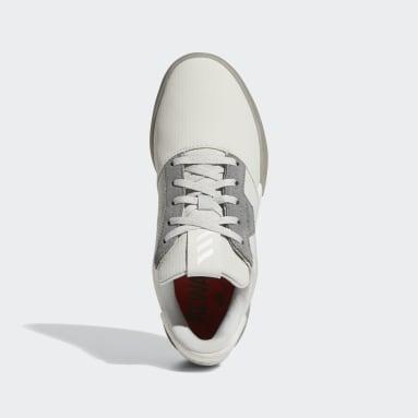 Youth Golf Grey Adicross Retro Spikeless Shoes