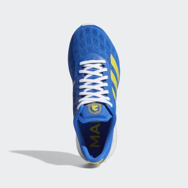 Women's Running Blue Adizero Boston 9 Shoes
