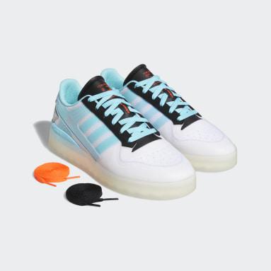 Men Originals White Forum Tech Boost Shoes