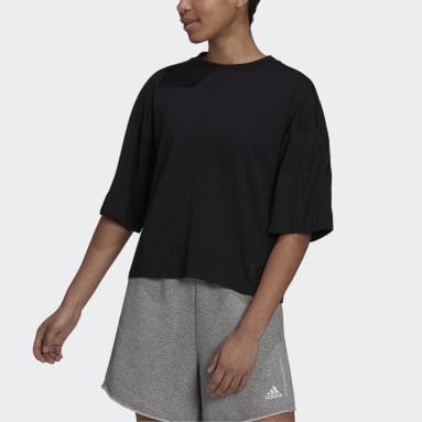 Polo adidas Sportswear Future Icons 3 Tiras Negro Mujer Sportswear