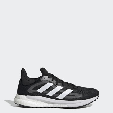 Women's Running Black SolarGlide 4 ST Shoes