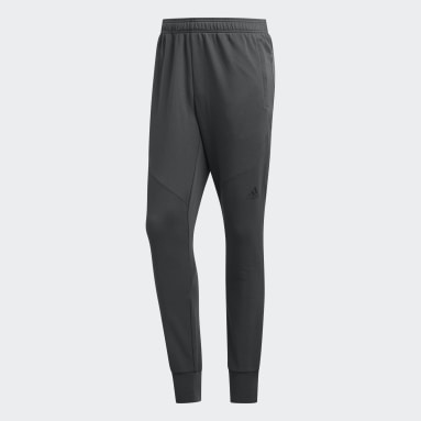 Men Running Grey Prime Workout Joggers