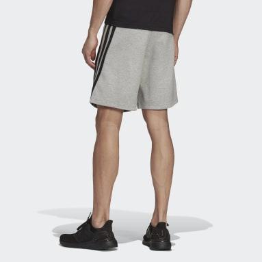 Men's Sportswear Grey adidas Sportswear Future Icons 3-Stripes Shorts