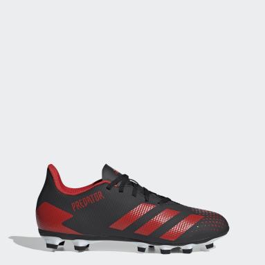 Men Football Black Predator 20.4 Flexible Ground Boots
