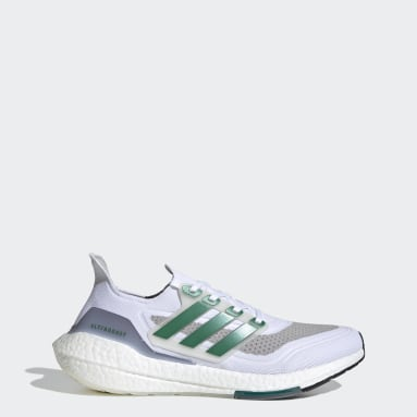 Running White Ultraboost 21 Shoes