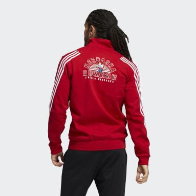 Men's Training Red Cornhuskers Track Jacket