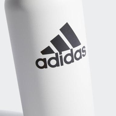 Training White Steel Metal Bottle 1L