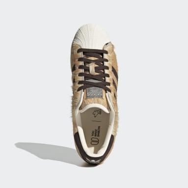 Men Originals Orange Superstar Shoes