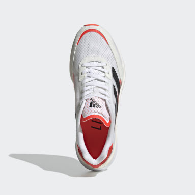 Kvinder Løb Hvid Adizero Boston 10 sko
