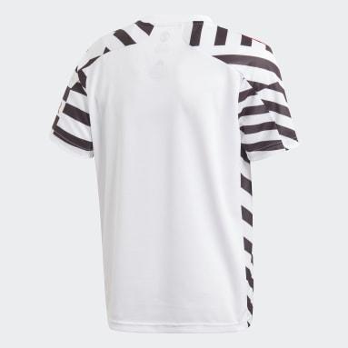 Camisa 3 Manchester United 20/21 Branco Meninos Futebol