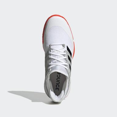 Mænd Bordtennis Hvid Court Team Bounce Indoor sko