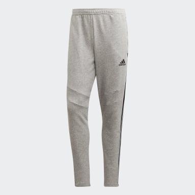 Mænd Fodbold Grå Tiro 19 French Terry bukser