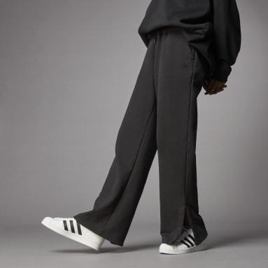 Pantalon de survêtement Adicolor Open Hem Noir Femmes Originals