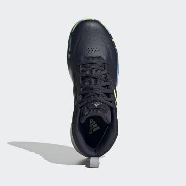 Børn Basketball Blå Own the Game Wide sko