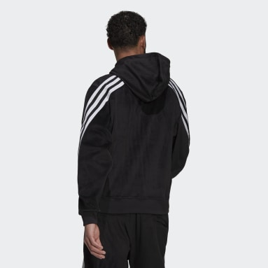 Veste à capuche adidas Sportswear Future Icons Full-Zip Noir Hommes Sportswear
