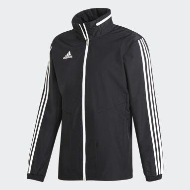 Men Gym & Training Black Tiro 19 All-Weather Jacket