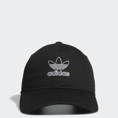 Women's Originals Black Relaxed Outline Hat