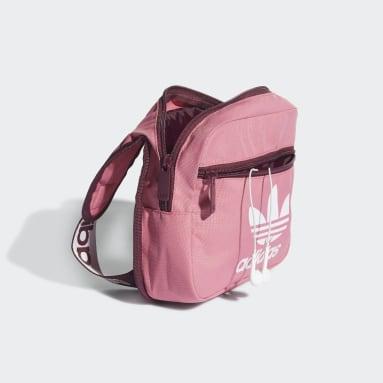 Originals roze Adicolor Sling Tas