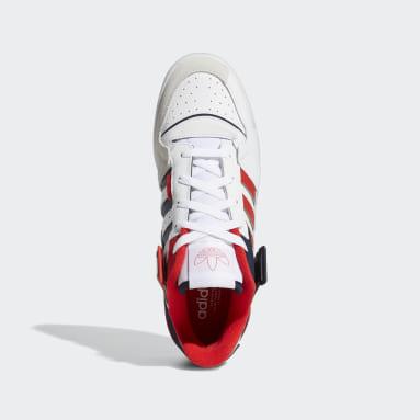 Men Originals White Forum Exhibit Low Shoes
