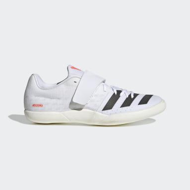 Chaussure Adizero Discus/Hammer Tokyo Blanc Athlétisme