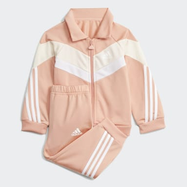 Infants Training Pink Future Icons Shiny Track Suit