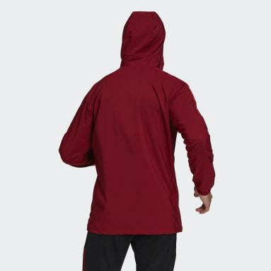 Men Football Red FC Bayern Tiro Presentation Jacket