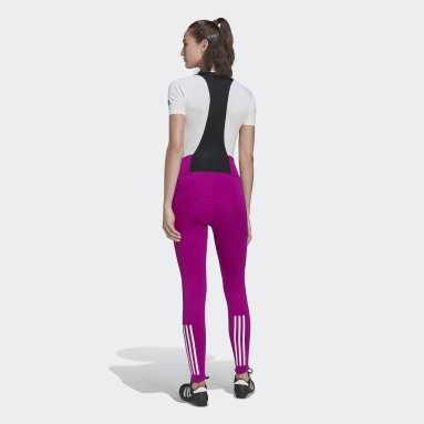 Collant à bretelles The Padded COLD.RDY Cycling Rose Femmes Cyclisme