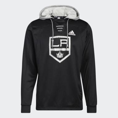 Men's Hockey Black Kings Skate Lace Hoodie