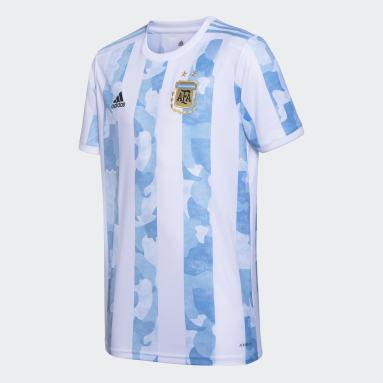 Camiseta Titular Selección Argentina Blanco Hombre Fútbol
