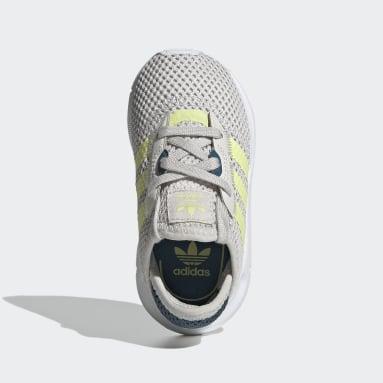 Zapatillas Swift Run X Plomo Niño Originals