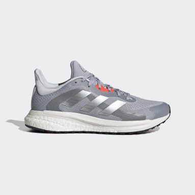 Zapatilla SolarGlide ST 4 Gris Mujer Running