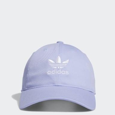 Women's Originals Purple Relaxed Strap-Back Hat