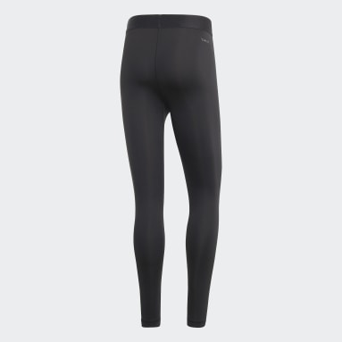 Men's sport_inspired Black Designed 2 Move Climalite Long Tights